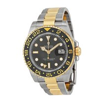 Rolex GMT-Master II Stainless Steel and 18K Yellow Gold Mens...