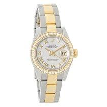Rolex Datejust Ladies Diamond MOP Oyster Perpetual Watch 179383