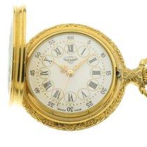 Tavernier orologio tasca placcato oro giallo con smalto /...