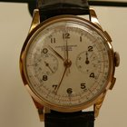 Chronographe Suisse Cie Vintage Chronograph 18Kt Rosé G...