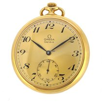 Omega 18K Pocket Watch, Small Second