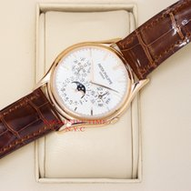 Patek Philippe Grand Complications Silver Dial 18kt Rose Gold...