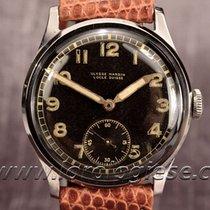 Ulysse Nardin Classic Vintage 1940`s Steel Watch