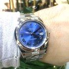 Rolex DateJust II 116300 Automatic Blue Dial Roman Nume...