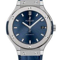 Hublot Classic Fusion 38 Mm Titanium Blue