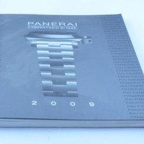 Panerai Katalog Catalogue 2009 Mit Preisliste Rar