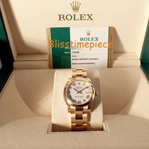 Rolex Date-Just 18KT Yellow Gold Oyster