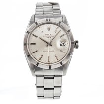 Rolex Oyster Perpetual Date Steel Automatic Silver Dial...