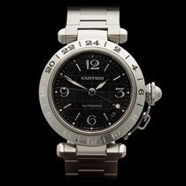 Cartier Pasha GMT Stainless Steel Unisex 2377