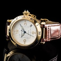 Cartier Pasha 750/000 Gg 38mm Ref 2392