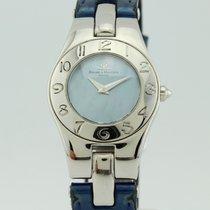 Baume & Mercier Linea Blue Pearl Dial Quartz Steel Lady 65305
