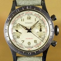 Gallet Vintage Flight Flying Officer MultiChron Chronograph