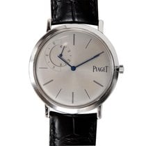 Piaget Altiplano 18k White Gold Silver Automatic G0A33114