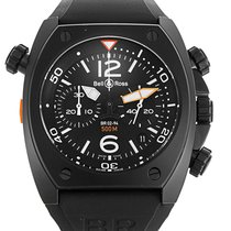 Bell & Ross Watch BR02-94 Chronograph Carbon