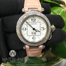 Cartier Pasha 2475 W31044M7 35mm 1.8ct Diamond Bezel Women&#39...