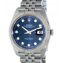 Rolex Datejust II 126334 Steel, Diamonds, 41mm