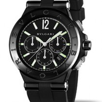 Bulgari Diagono ULTRANERO CHRONOGRAPHE  NEW RO