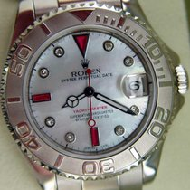 Rolex Midsize Yachtmaster Used Watch In Steel