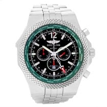 Breitling Bentley Chronograph Gmt Green Dial Limited Edition...