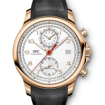 IWC IW390501 Portuguese Yacht Club in Rose Gold - on Black...