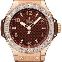 Hublot Big Bang 38  Pink Gold Diamond 361.PC.3380.RC.1104