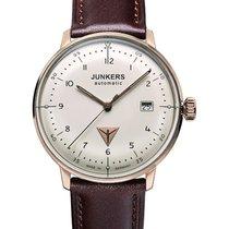 Junkers Bauhaus Auto Watch Swiss Movement R/gold 40mm Case...