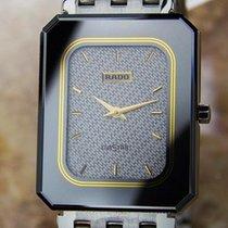 Rado Diastar Quartz Stainless Steel Unisex 1980s Dress Watch L124