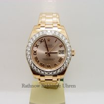 "Rolex Lady Datejust Parlmaster 31mm ""Rosegold"""