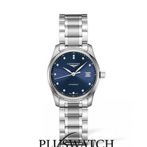 Longines Master Collection Automatic Blue Dial With Diamonds...