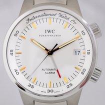 IWC GST Alarm white Dial Stahl Taucheruhr Klassiker Cal 917 rar