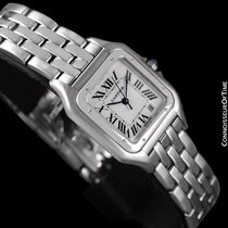 Cartier Panthere Mens Midsize / Unisex Watch, Date, SS - W25054P5