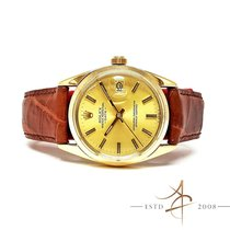 Rolex Vintage Oyster Perpetual Date Gold Cap Ref 15505 (Year...