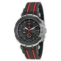 Tissot T-Race MotoGP 2015 Automatic Anthracite Dial Black and...