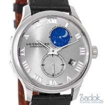 Chopard LUC Lunar Twin 18k White Gold Automatic Watch 161934-1...