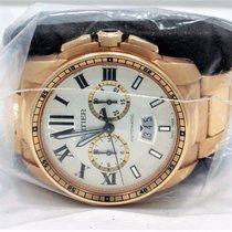 Cartier Calibre W7100047 18k Rose Gold 42mm Chronograph Auto...