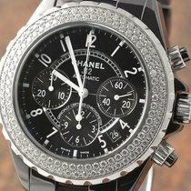 Chanel J12 Keramik H1009 Brillantlünette REVISION 2013