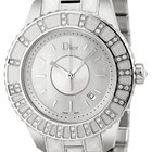 Dior Christal Mother of Pearl Dial Stainless Steel White...