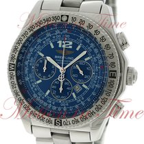 Breitling B-2 Professional Chronograph, Blue Dial - Stainless...