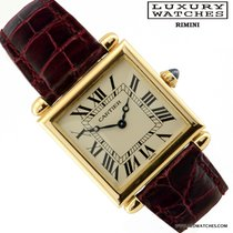 Cartier TANK OBUS 16302 YELLOW GOLD FULL SET 1994's