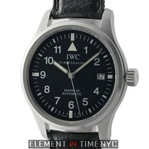 IWC Pilot Collection Pilot Mark XV 38mm Stainless Steel Black...