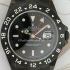 Rolex 16570 Explorer II, Steel, with black PVD Coating