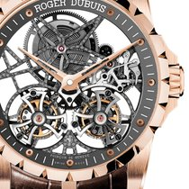 Roger Dubuis [NEW] Excalibur 45 Skeleton Double Flying Tourbillon