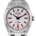 Rolex 116400 Milgauss Stainless Steel  Dial Watch