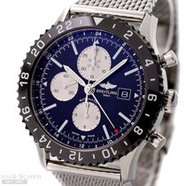 Breitling Chronoliner Ref-Y2431012/BE10 Stainless Steel Box...