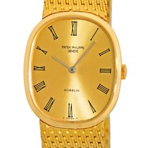 "Patek Philippe Gent's 18K Yellow Gold  Gübelin ""Golden..."