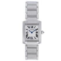 Cartier Tank Francaise Ladies Steel Watch W51008Q3