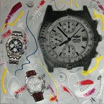 Breitling tableau peinture  pop art chronomat