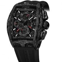 Cvstos Challenge Chrono 2 Black Forged Carbon Honolulu Black Dial
