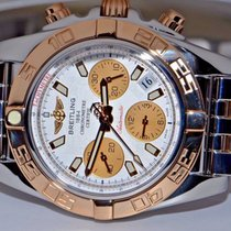 Breitling Chronomat B01 41 Automatic Chronograph 18K Rose Gold