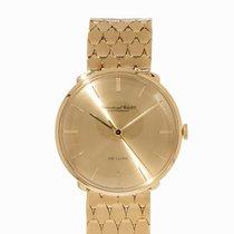 IWC De Luxe Wristwatch, 18K Gold, Switzerland, 1960s